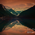 Lake Louise Abstract by Tara Turner