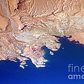 Lake Mead Shores Nv Planet Earth by James BO  Insogna