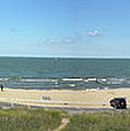 Lake Michigan From The Michigan State Side by Thomas Woolworth