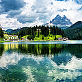 Lake Misurina - Dolomites, Italy by Ghetu Daniel