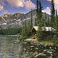 Lake Ohara Lodge by Darwin Wiggett