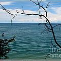 Lake Ontario Near Chimney Bluffs by Rose Santuci-Sofranko