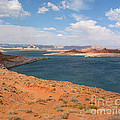 Lake Powell Landscape Panorama by Merton Allen