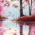 Lake Reflections by Graham Gercken