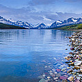 Lake Sherburne Shoreline by Greg Nyquist