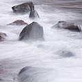Lake Superior Rocks Waves 1 B by John Brueske
