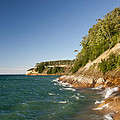 Lake Superior Shoreline by Cindy Lindow