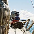 Lake Titicaca Reed Boat by Nimmi Solomon