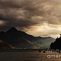 Lake Wakatipu At Sunset by Pixel Chimp
