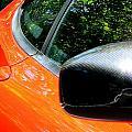 Lamborghini Mirror And Intake by Jeff Lowe
