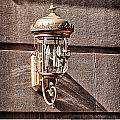 Lamp On The Building Facade  by Val Black Russian Tourchin