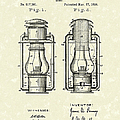 Lamp Pomeroy 1894 Patent Art by Prior Art Design