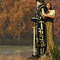 Lancelot And Guinevere by Daniel Eskridge