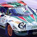 Lancia Stratos Alitalia Rally Catalonya Costa Brava 2008 by Yuriy Shevchuk