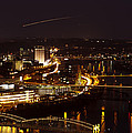 Landing In Pittsburgh by Dave Hahn