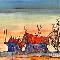 Landscape 5 by Padamvir Singh