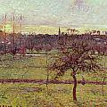 Landscape At Eragny by Camille Pissarro