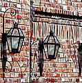Lanterns In The Courtyard by Judi Bagwell