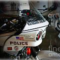 Lapd Motorcycle by Tommy Anderson