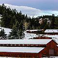 Large Barn by Shannon Harrington