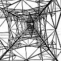 Large Electricity Powermast by Yali Shi