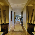 Large Hallway In Upscale Residence by Andersen Ross