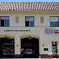 Larkspur Fire Department - Larkspur California - 5d18503 by Wingsdomain Art and Photography