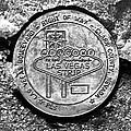 Las Vegas Strip Street Medallion by David Lee Thompson