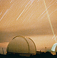 Laser Beam Fired Into The Night Sky by Nasa