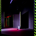 Laser Game Playing Space With Narrow by Corepics