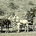 Last Deadwood Coach 1890 by Padre Art