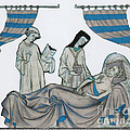 Last Rites, Middle Ages by Science Source
