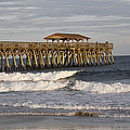 Late Afternoon At The Pier by Jackie Briggs