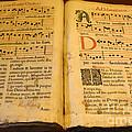 Latin Hymnal 1700 Ad by Bob Christopher