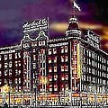 Lauerbach's Department Store In Salt Lake City Ut In 1910 by Dwight Goss