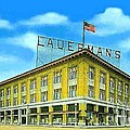 Lauerman's Department Store In Marinette Wi In 1910 by Dwight Goss