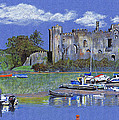 Laugharne Castle  by Lynn Blake-John