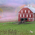 Laurel Mountains Barn by Mark Dottle