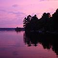 Lavender Lake by Shirley Radebach