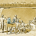 Lavoisier Experimenting by Science Source