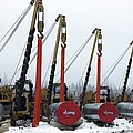 Laying A Gas Pipe by Ria Novosti
