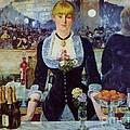 Le Bar Des Folies-bergere by Pg Reproductions