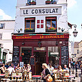 Le Consulat Cafe  by Jon Berghoff