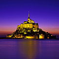 Le Mont Saint-michel, Normandy, France by Hans-Peter Merten