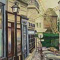 Le Moulin De La Galette Paris by Larry Burke