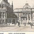Le Palais De Justice by Georgia Fowler