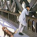 Le Pont De L'europe by Gustave Caillebotte