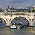 Le Pont Neuf . Paris. by Bernard Jaubert