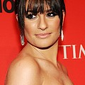 Lea Michele At Arrivals For Time 100 by Everett