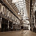 Leadenhall Market London With  by David Pyatt